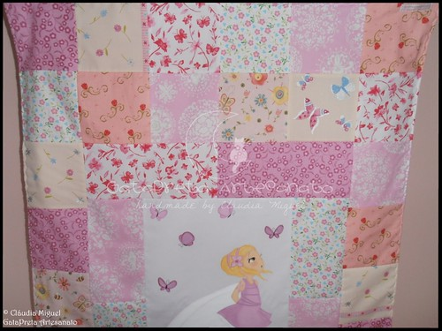 Colcha cama de grades Blooming Fairies II-3 | by GataPreta Artesanato