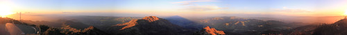 california trees sunset shadow sky panorama mountain clouds canon triangle rocks sanfranciscobayarea mountdiablo 360degrees californiadelta