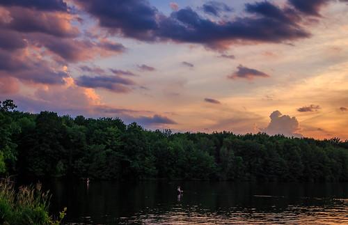 lake landscape arthur moraine waterscape davidsharo