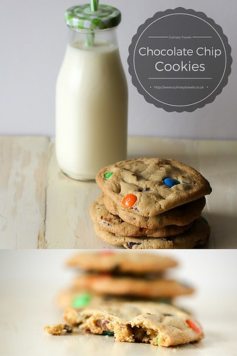 Choc Chip Cookies for Pinterest | by CulinaryTravels