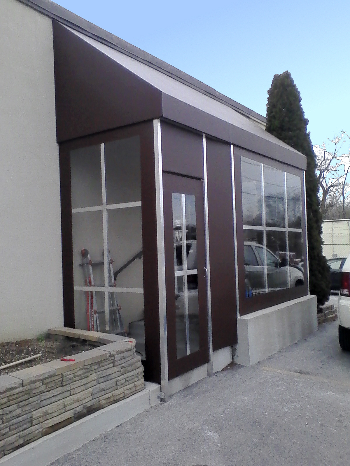Commercial Awning Enclosure