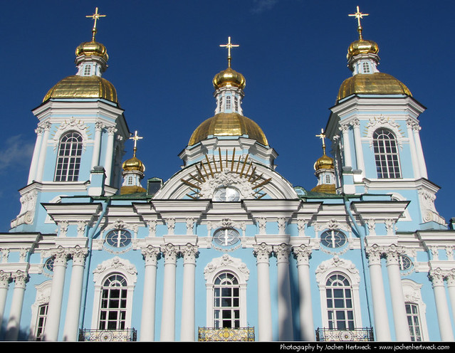 St. Nicholas Naval Cathedral, St. Petersburg, Russia