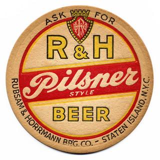 R&H Pilsner Style Beer