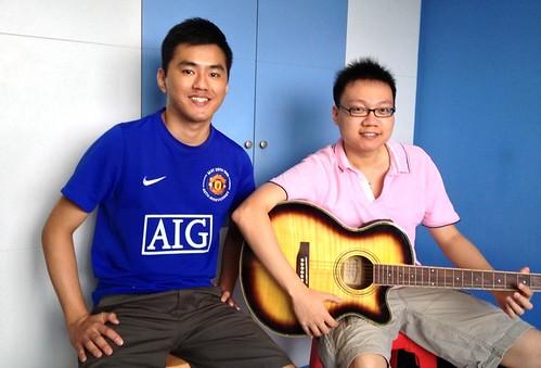 Guitar lessons Singapore Zhong Kan