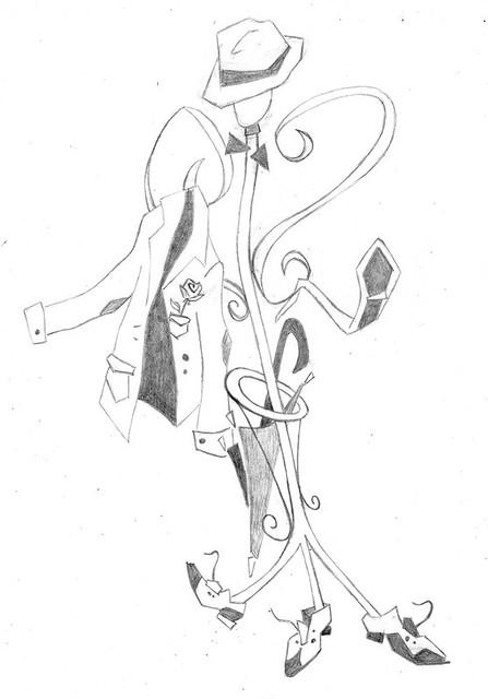 sketch uomo