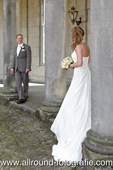 Trouwreportage in Huis de Voorst (Eefde): Angela en Sander