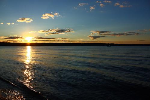 sunset newyork unitedstates fingerlakes senecalake lodipoint