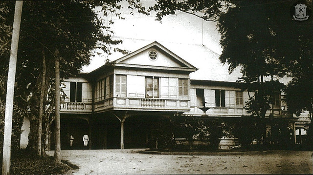This photograph from the 1890s record what altogether amounted to a substantial architectural, engineering and administrative achievement in the service of the First Authority.