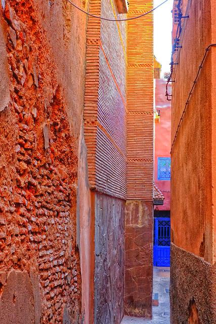 Colour and texture- Marrakesh.Morocco.