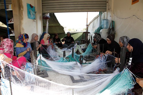 Netting a trade and an income in northern Lebanon | by DFID - UK Department for International Development