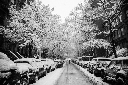 New York City Snow Monochrome 1 | by yeag3r