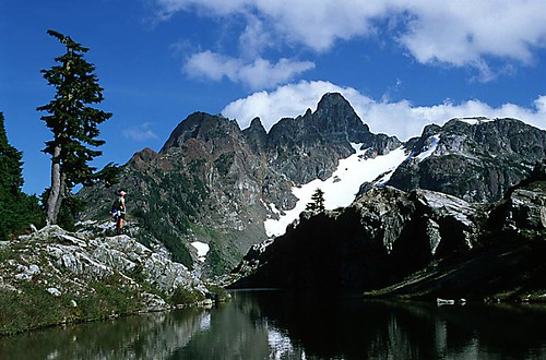 Strathcona Provincial Park, Central Vancouver Island, British Columbia, Canada