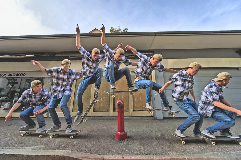 Truco de skate ollie