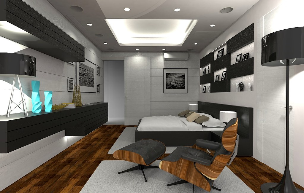 1 Master Bedroom 2 Interior Design Pune India By Arch Ms