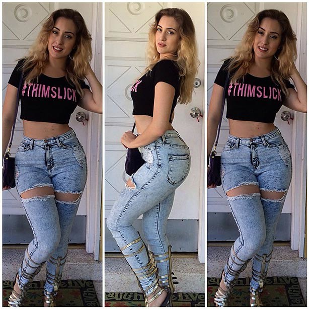 Hot girls in jeans images