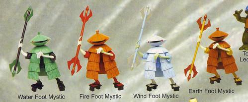 """LEE'S TOY REVIEW #xx, pg. 37 / """"TOY FAIR 2004"""" , 'TMNT - 2k3 Peek' - """"FOOT MYSTICS"""" unproduced prototypes  (( March 2004 )) by tOkKa"""