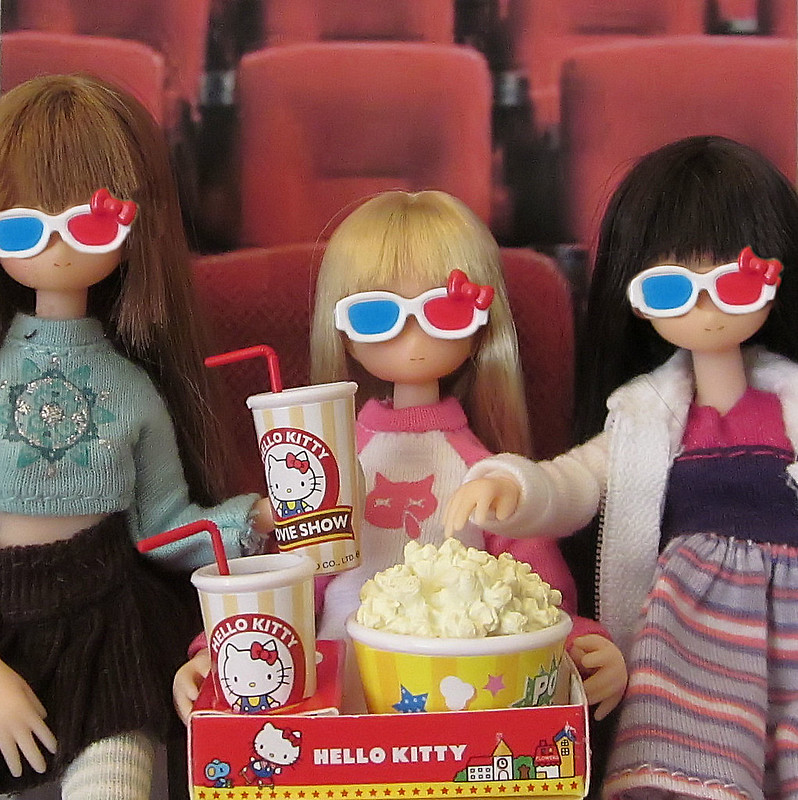 Front row at the movies