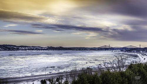 winter photoshop landscape québec paysage lightroom winterlandscape fleuvesaintlaurent quebeclandscape paysagequébécois nikond800e