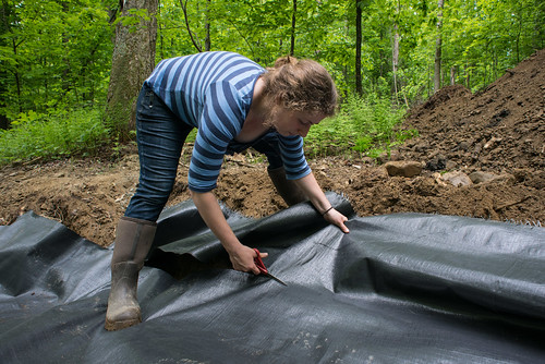 Tara Cutting Earth Stabilization Fabric | by goingslowly