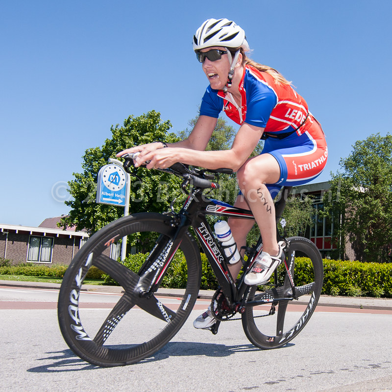 Vink + Veenman triathlon Nieuwkoop 2013