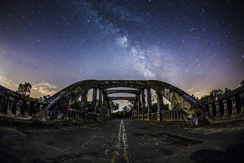 california longexposure bridge night canon stars grafitti fisheye stevenson galaxy davis winters milkyway yolo