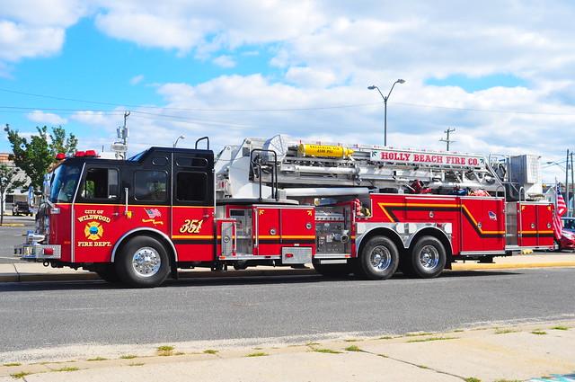 Wildwood Fire Department Holly Beach Fire Co. No.1 Tower 351