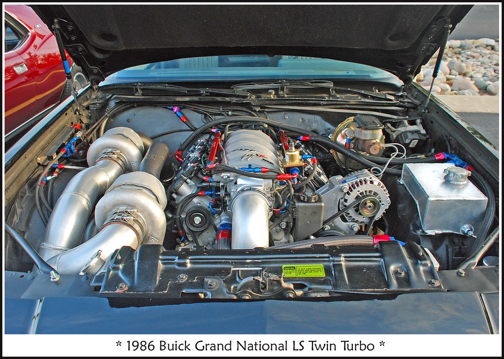 1986 Buick Grand National LS Twin Turbo - 850 hp | Find all