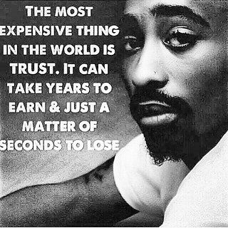 Words of wisdom from Tupac Rest in peace to one of the gre ...