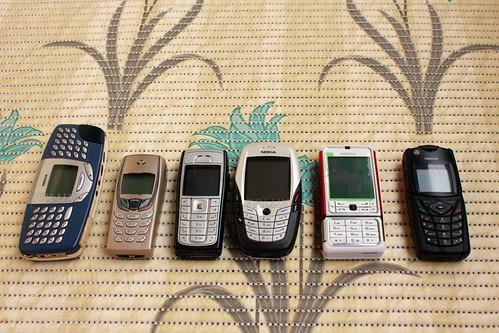 Classic Nokia Cellphones