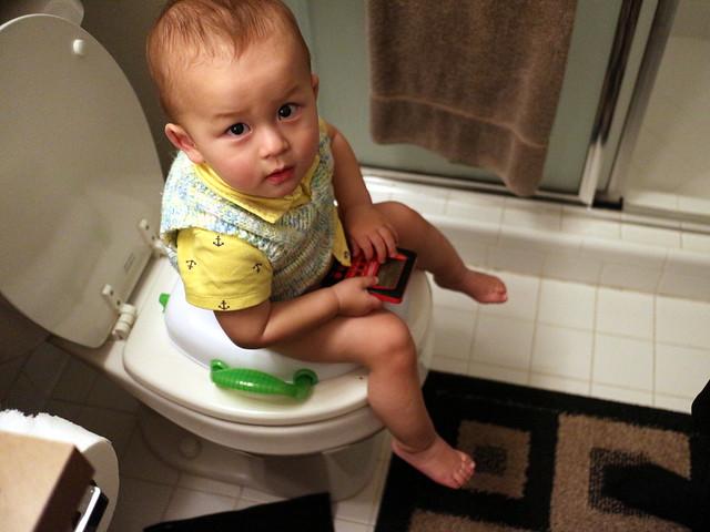 Yahtzee on the toilet