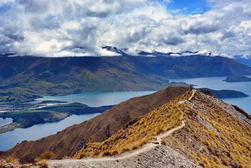 newzealand cloud mountain way landscape hiking path paisaje pressure montaña wanaka atmospheric nube aspiring nuevazelanda royspeaktrack
