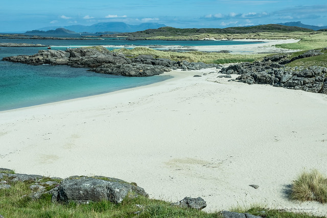 Superb Sanna, Rum and Eigg and a beach heaven.