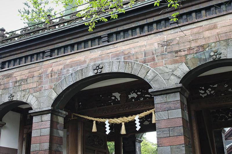 Entrée du sanctuaire Oyama