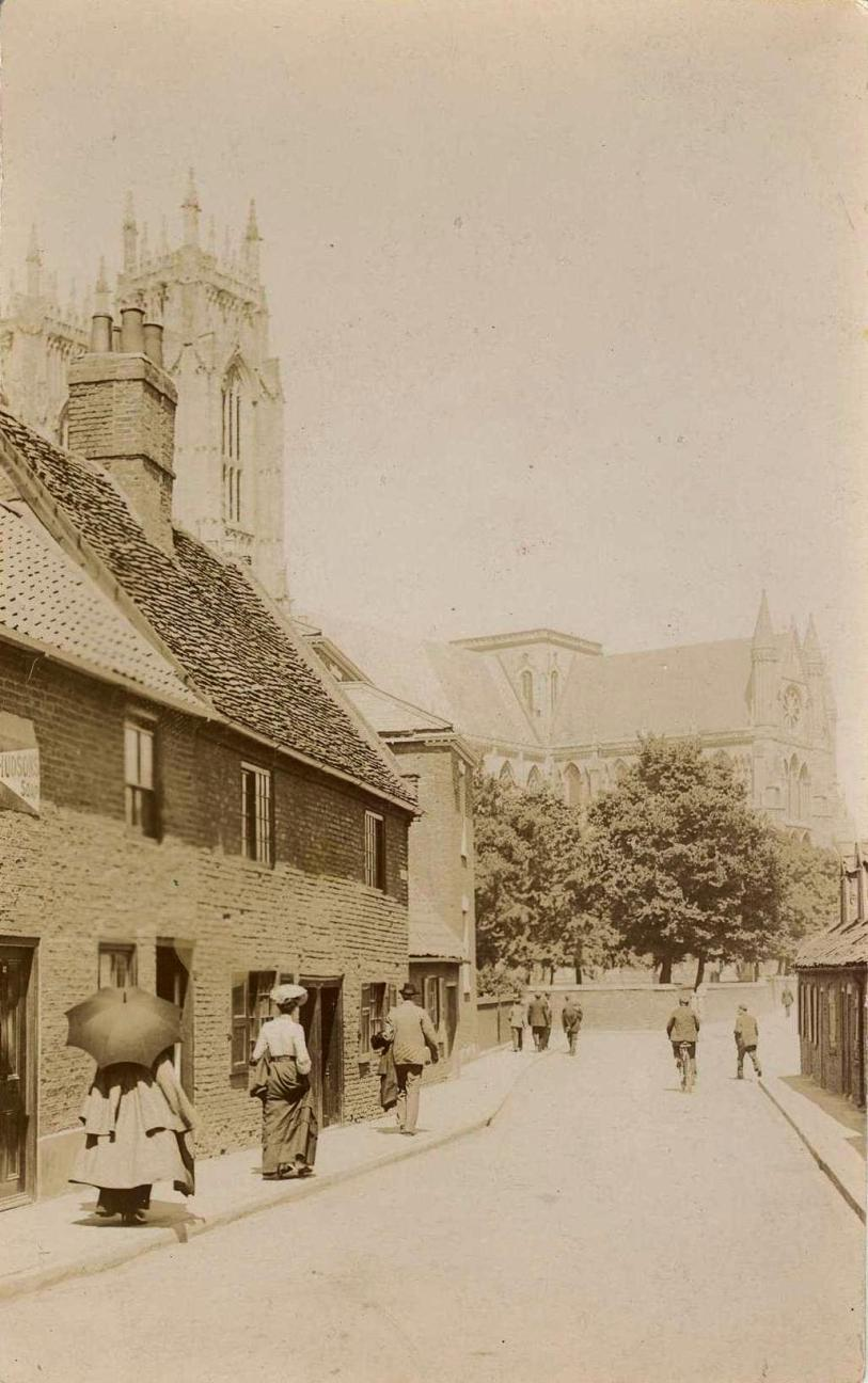 Keldgate, East End from South East, c.1900 (archive ref PO-1-14-282