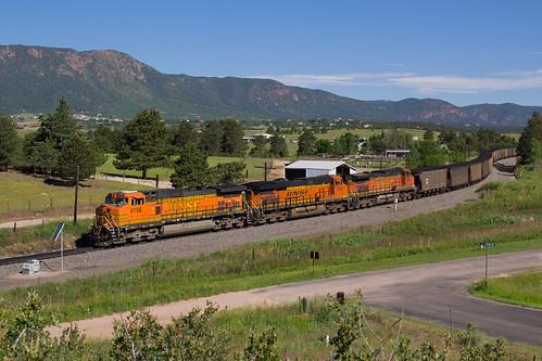 railroad monument train colorado ge bnsf generalelectric mtherman rampartrange coaltrain c449w jointline bnsf4156