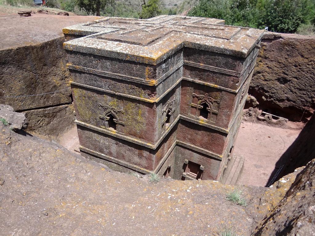 Bet Giyorgis Rock-Hewn Church - Lalibela - Ethiopia - 04