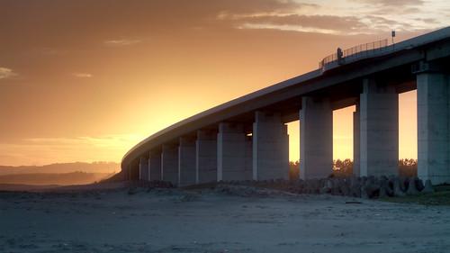 bridge sunset japan canon landscape sand 日本 70200