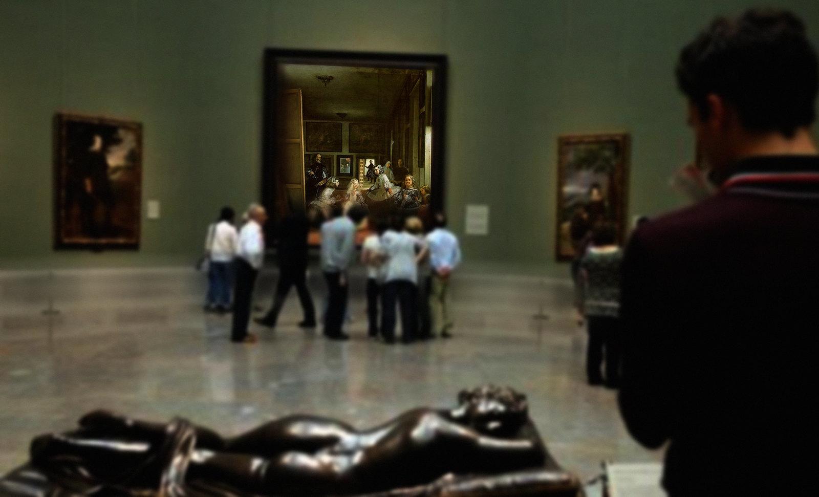 Meninas, iconósfera de Diego Velazquez (1656), estudio de Francisco de Goya y Lucientes (1778), paráfrasis y versiones Pablo Picasso (1957).
