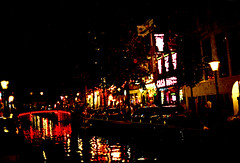 Amsterdam Netherlands Holland Red-Light District Theatre Casa Rosso July 1995 056