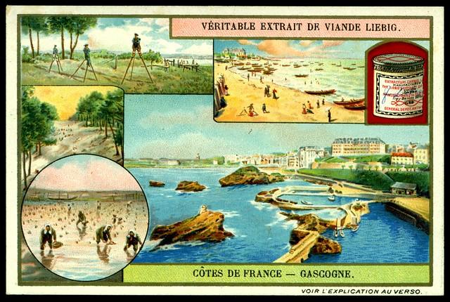 Liebig S953 The French Coastline ~ Gascony