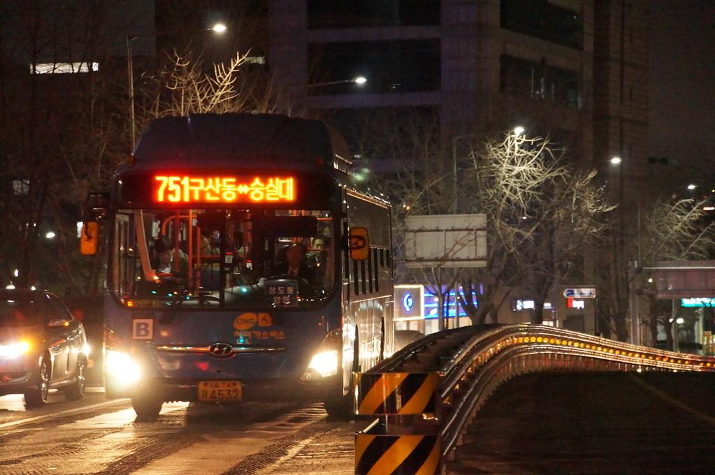 Seoul Metropolitan Bus Sunjin Traffic Service Route 751