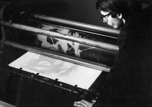 Screen printing in the 1960s