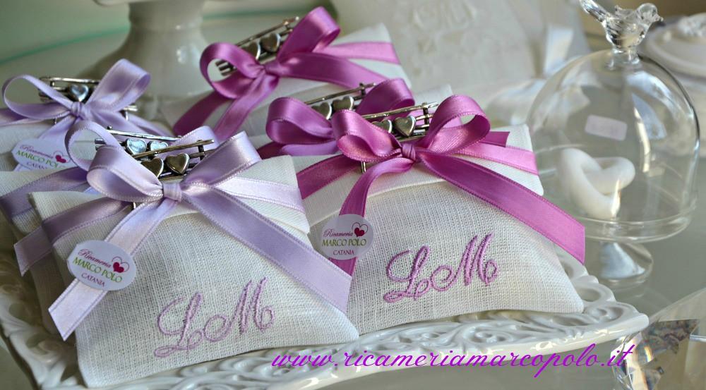 Bomboniere Matrimonio Ricamate.Le Bomboniere Di Matrimonio Ricamate Di Luca E Meme Flickr