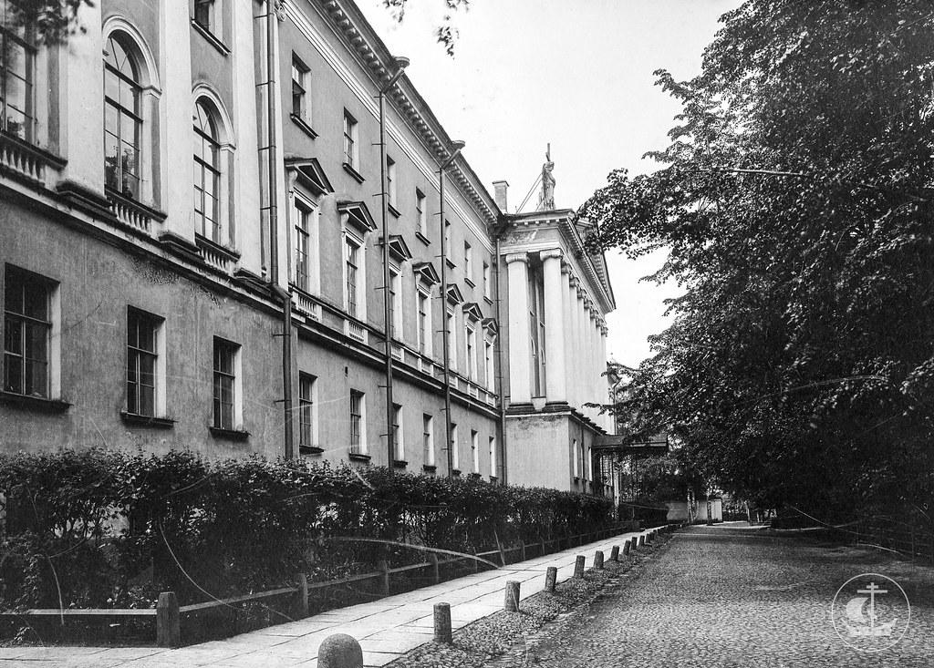 Архивные фотографии здания Санкт-Петербургской духовной академии