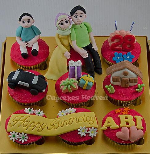 Cupcake Ulangtahun Untuk Suami Tercinta Jakarta Indonesia Flickr