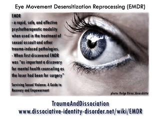 EMDR quote | by TraumaAndDissociation