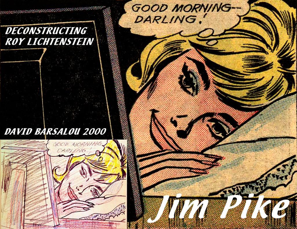 GOOD MORNING DARLING DECONSTRUCTING ROY LICHTENSTEIN © 200