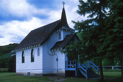 Church of the Good Shepherd, Taylor, Northern British Columbia, Canada