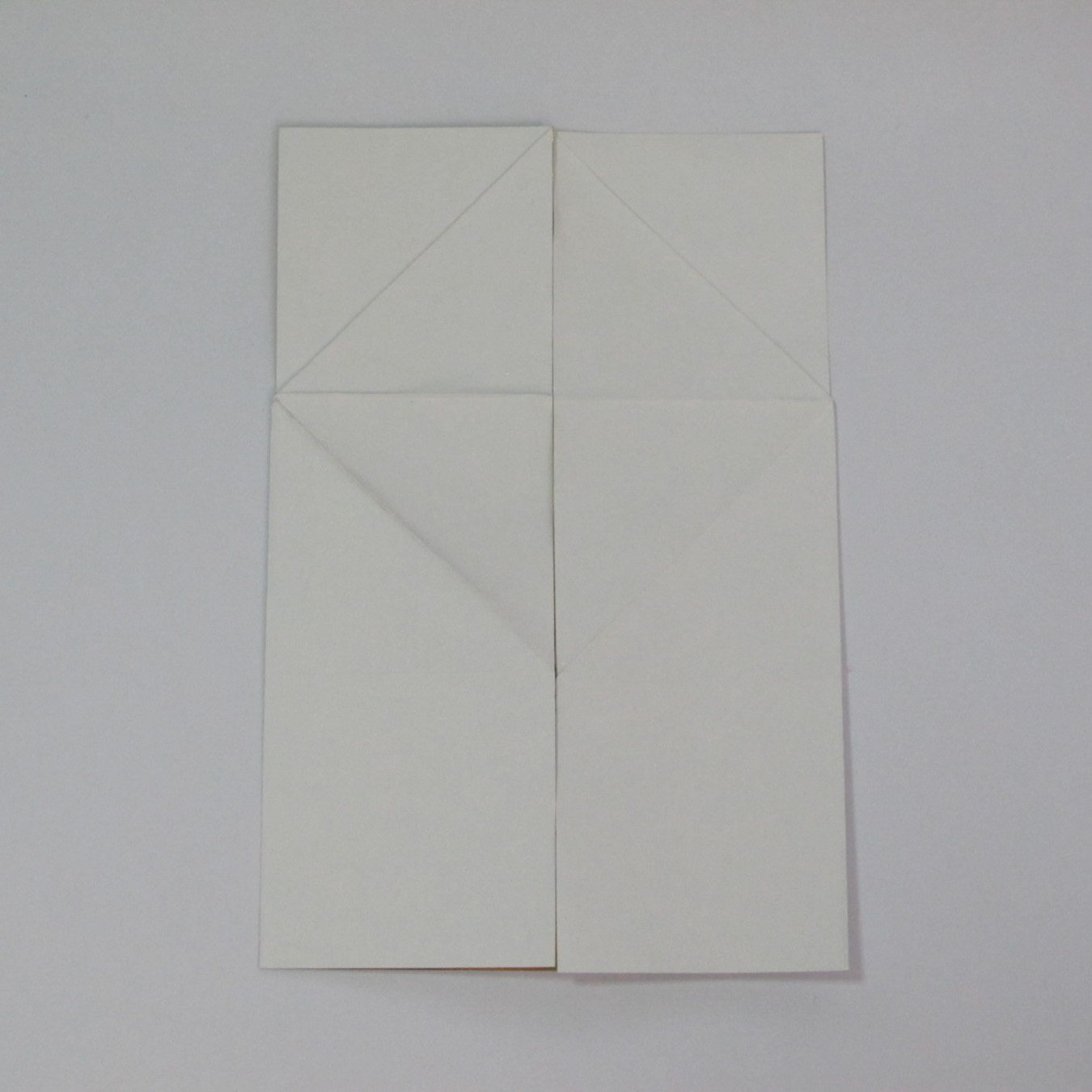 วิธีพับกระดาษเป็นรูปหัวใจติดปีก (Heart Wing Origami) 014