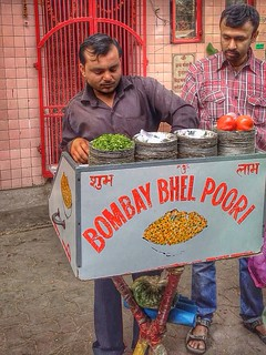 bombay bhel poori | india. | by alyssaBLACK.